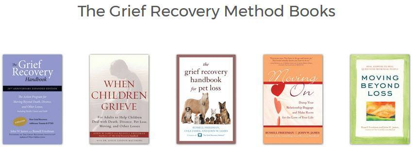grief recovery method books by john w james