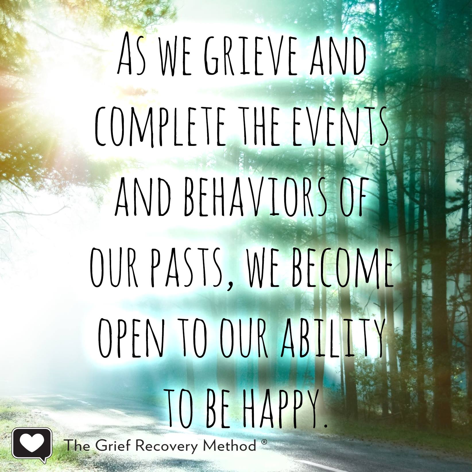 grieve complete behavior event past open ability to be happy