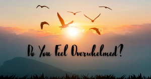 do you feel overwhelmed loss grief