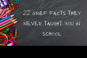 22 facts you didn't know about grief and loss