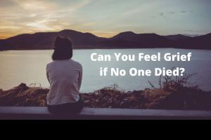 Loss without death grief healing from loss sadness