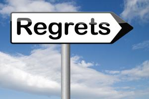 regret loss grief recovery healing