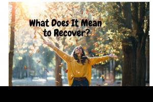 what does it mean to recover grief loss